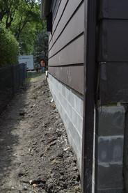 New Foundation for Garage