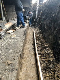 The Start of New Footing