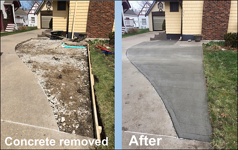 Concrete removal and floors