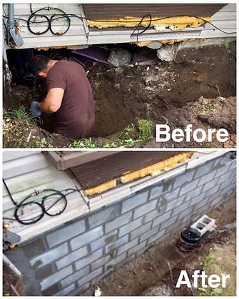 Foundation repair & New Founations