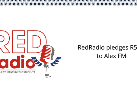 RedRadio pledges R5,000 to assist in rebuilding Alex FM
