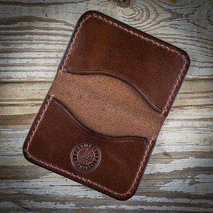 IN STOCK: Slim 3-Pocket Dark Brown