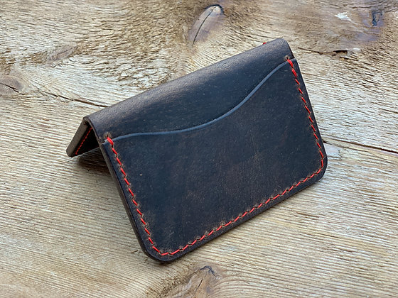 Logan's 3-Pocket: Brown & Red
