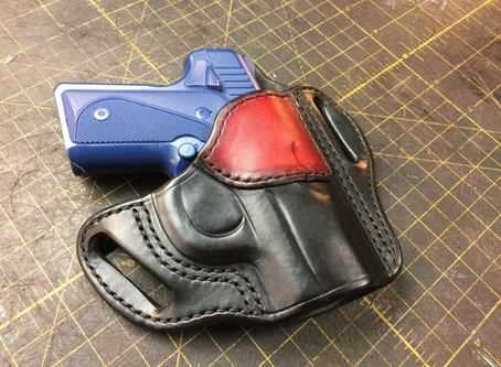 Making a Pancake Holster for the Kimber Solo Carry