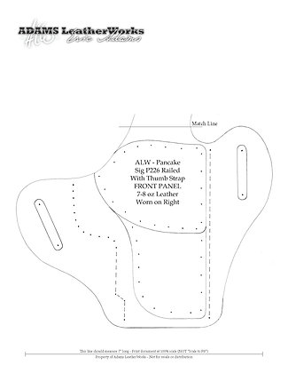 Sig Sauer - P226 Railed Thumb Strap