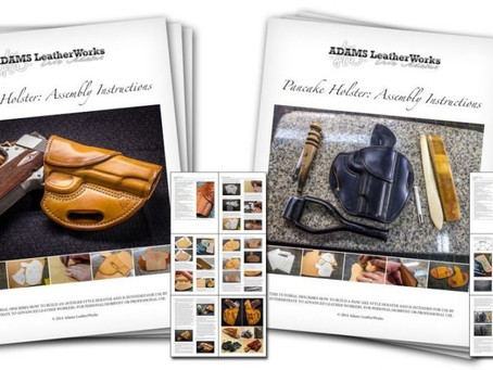 Printed Holster Patterns and Instruction Books