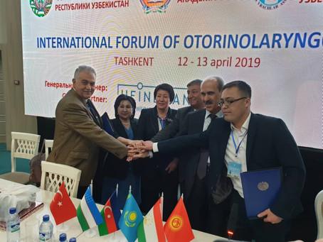 Daşkənddə Ortaq İşbirliyi Anlaşması imzalandı.