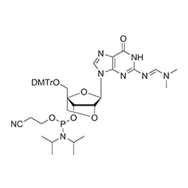 N2-dmf-5'-O-DMT-2'-O-4'-C-Locked-G-CE Phosphoramidite