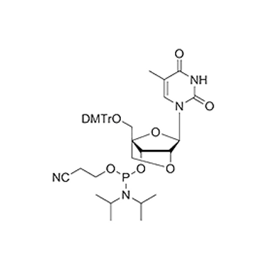 5'-O-DMT-2'-O-4'-C-Locked-T-CE Phosphoramidite