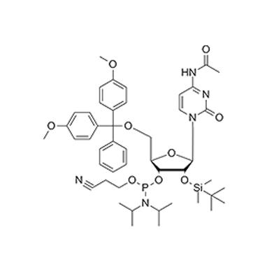 N4-Ac-5'-O-DMT-2'-O-TBDMS-C-CE Phosphoramidite