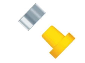 FlangelessFerrule w/SST Ring (ETFE), 1/4-28 Flat-Bottom, for 1/16