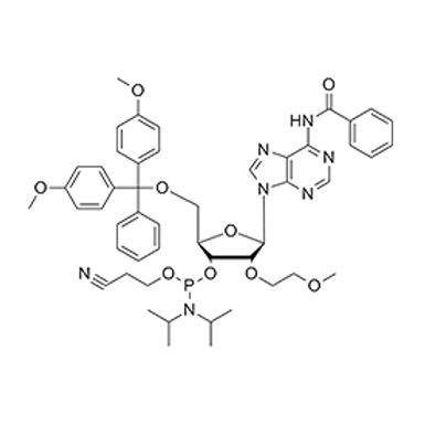 N6-Bz-5'-O-DMT-2'-O-MOE-A-CE Phosphoramidite