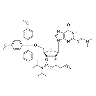 N2-dmf-5'-O-DMT-2'-fluoro-dG-CE Phosphoramidite