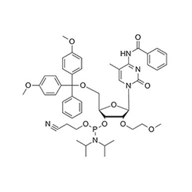 N4-Bz-5-Me-5'-O-DMT-2'-O-MOE-C-CE Phosphoramidite