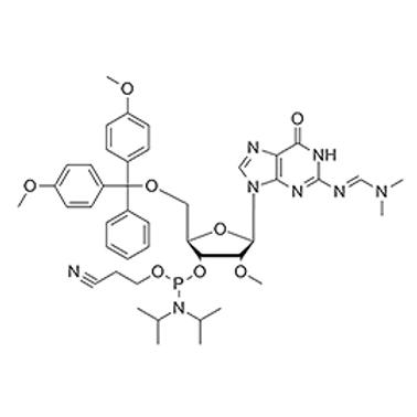 N2-dmf-5'-O-DMT-2'-OMe-G-CE Phosphoramidite
