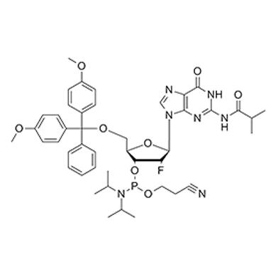 N2-iBu-5'-O-DMT-2'-fluoro-dG-CE Phosphoramidite