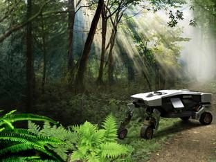 יונדאי חשפה רכב שהולך עם רגליים ומסוגל לטוס על רחפן