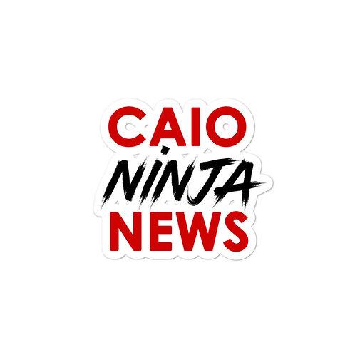CAIO NINJA NEWS Bubble-free stickers