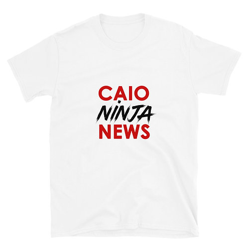 CAIO NINJA NEWS Short-Sleeve Unisex T-Shirt