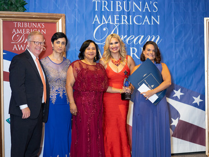 2018 Tribuna's American Dream Awards Gala Provides $25,000 in Scholarships and Awards