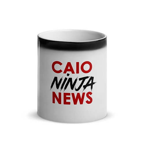 CAIO NINJA NEWS Glossy Magic Mug