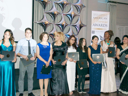 2014 Tribuna's American Dream Awards Over $22,000 given in scholarships, awards and donations to