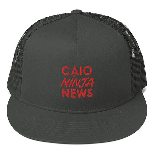 CAIO NINJA NEWS Trucker Cap (JACK'S COLLECTION)