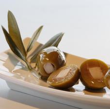 Oliven mit Pecorino
