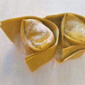 Vegane Cappellacci grün