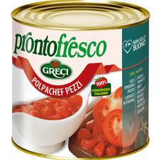 """Tomatenstücke """"Polpachef pezzi"""""""