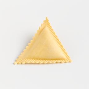 Dreiecks- Ravioli