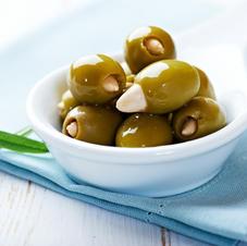 Oliven mit Mandel