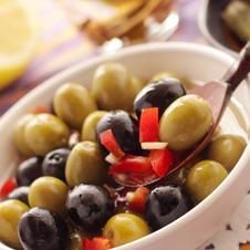 Olivencocktail pikant