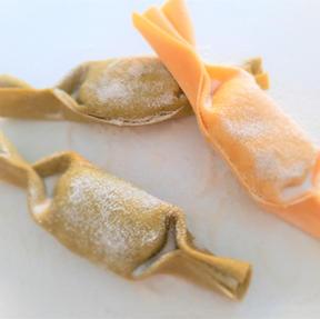 Caramelle grün, gelb