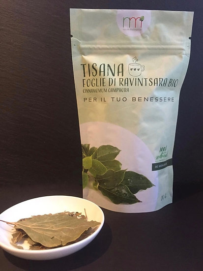 Organic Ravintsara Leaves