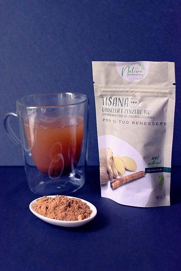 Organic Cinnamon Ginger Powder - Herbal Drink