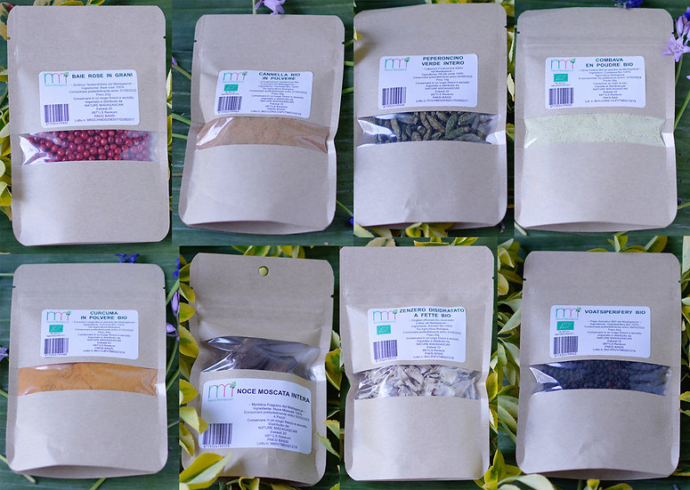 Package Collection spices