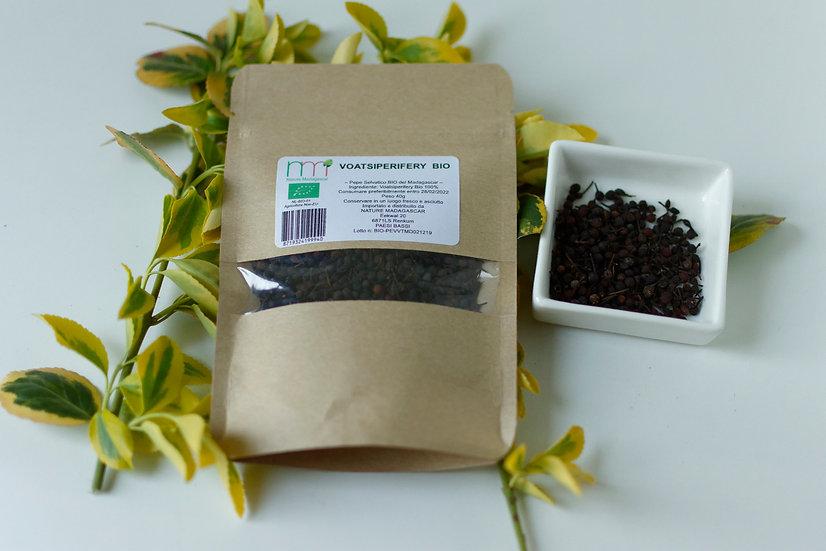 Wild pepper Voatsiperifery in grain Bio