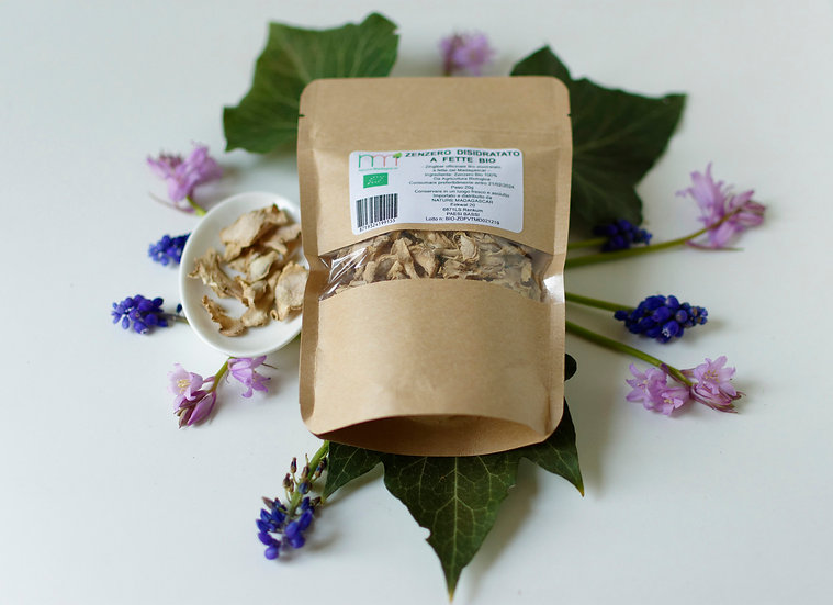 Ginger - Dehydrated Slices - Organic