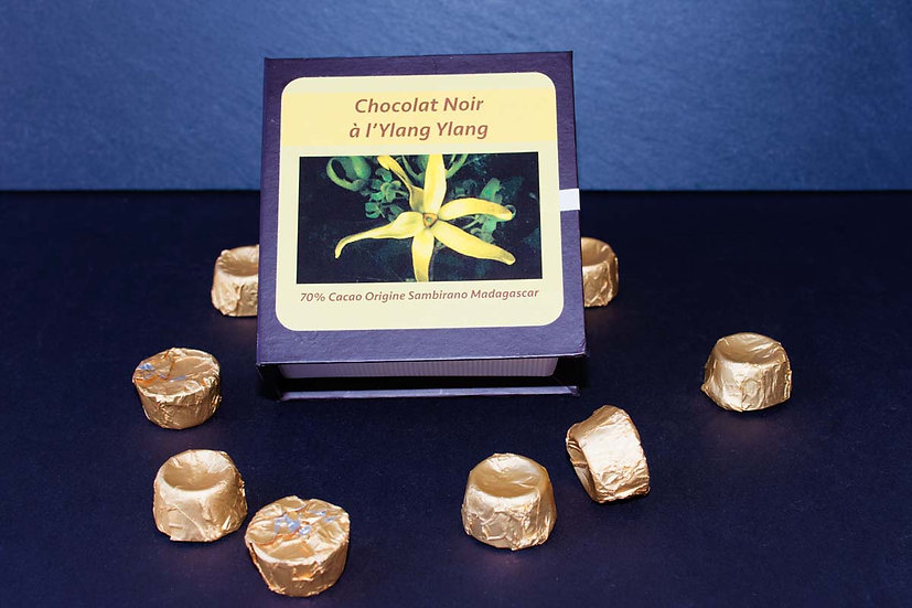 Cioccolato fondente all' Ylang Ylang