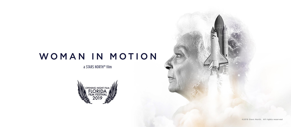 """Film poster for """"Woman in Motion"""""""