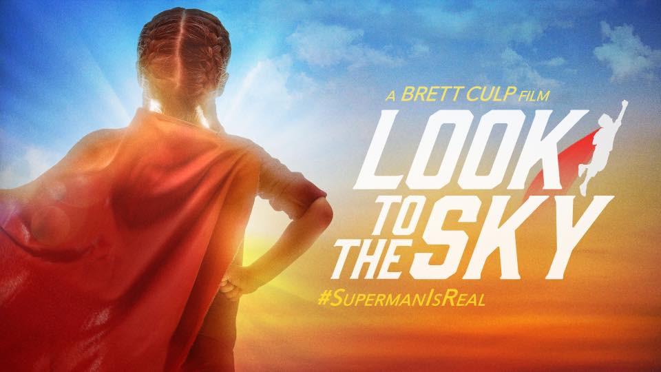 "Movie poster for Brett Culp's documentary film ""Look To The Sky.""  © Brett Culp Films."