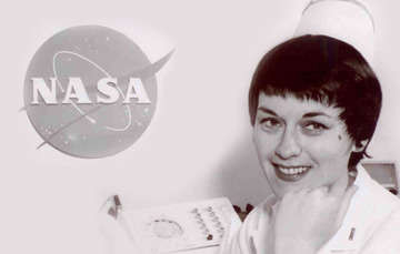 "Nurse Dolores ""Dee"" O'Hara (photo credit: NASA)."