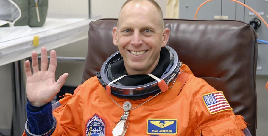NASA astronaut Clayton C. Anderson.  Photo credit: NASA.