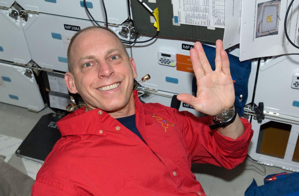 Astronaut Clayton C. Anderson.  Photo credit: NASA.