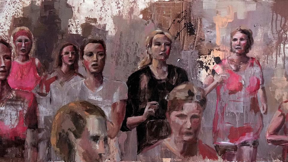 Art People Gallery: Nadia Rapti / Bodies in action