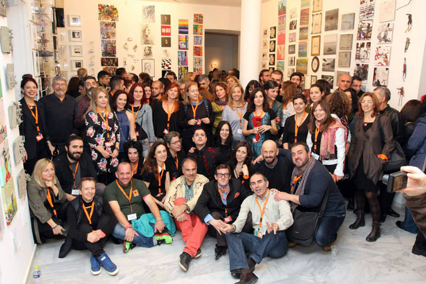 Artists & Organizers Group photo