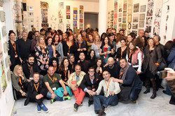 Artists & Organizers Group photo