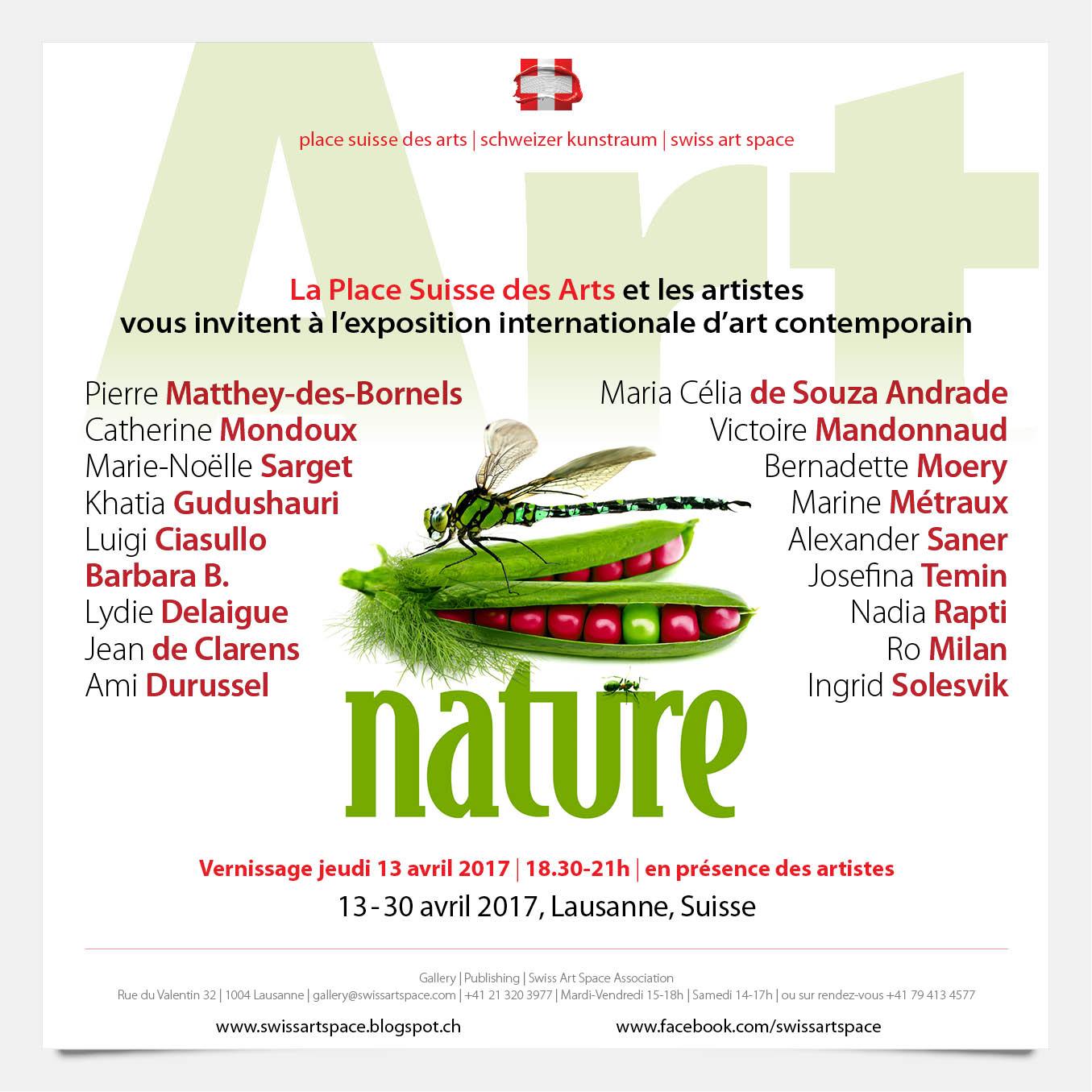 Nature 2017 - Swiss Art Space