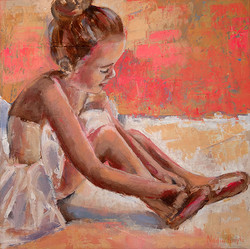 Little ballerina (SOLD)